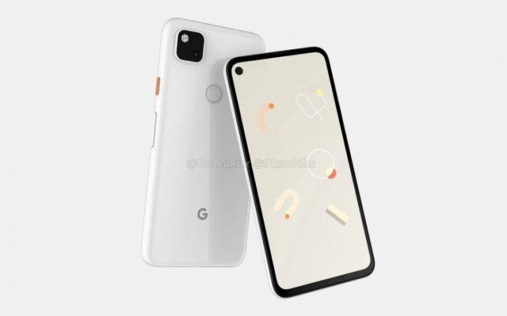 Google Pixel 4a © OnLeaks