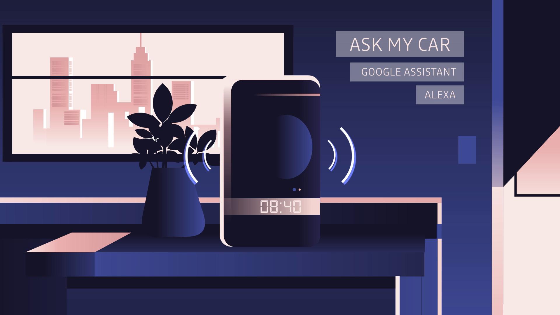 CES 2020 : Renault et Otodo connectent l'automobile à la maison via Google Assistant et Alexa