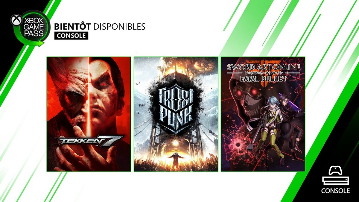 Xbox Game Pass janvier 2020