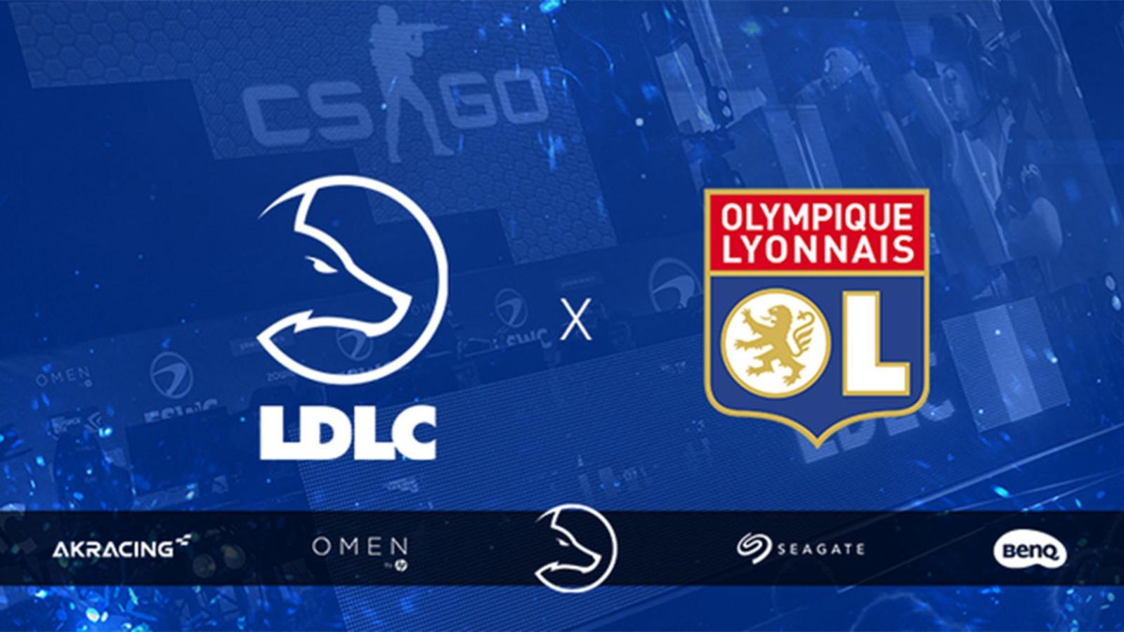 Team LDLC, l'équipe gaming du e-commerçant, devient partenaire de l'Olympique lyonnais et change de nom