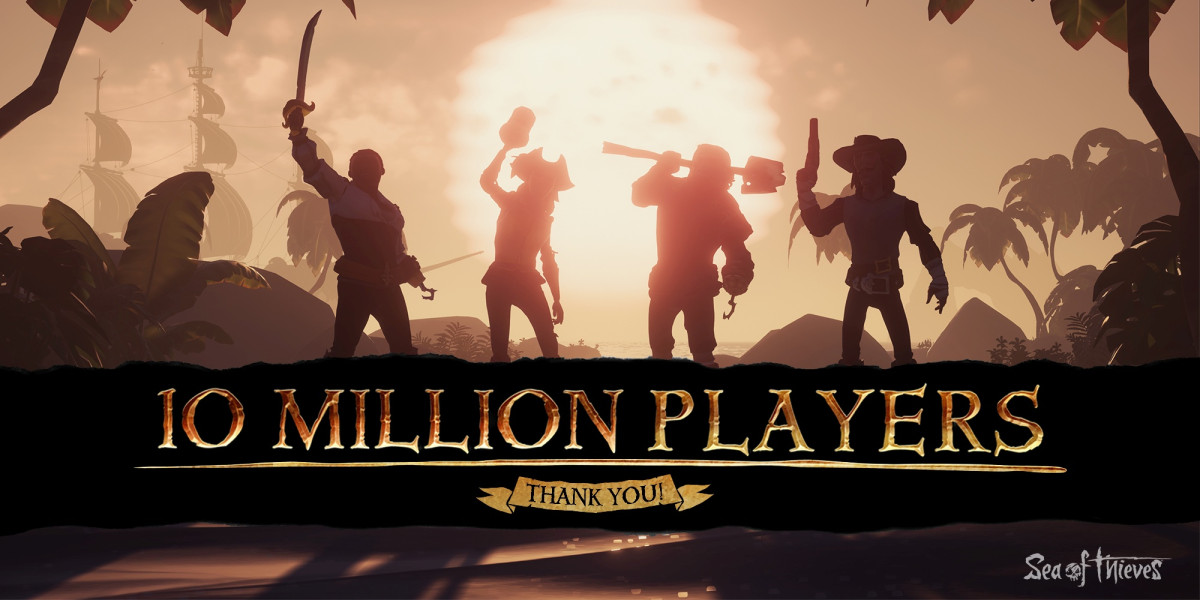 Sea of Thieves 10 millions