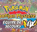 Pokémon Donjon Mystère : Équipe de Secours DX sort le 6 mars 2020 sur Nintendo Switch