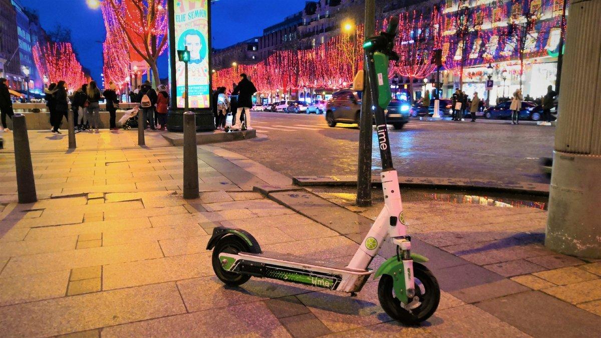 Lime-trottinette-Paris-2.jpg © Alexandre Boero pour Clubic
