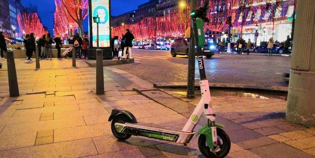 Paris envisagerait de brider les trottinettes électriques en libre service à 10 km/h
