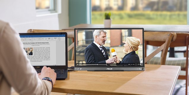 CES 2020 : ASUS dévoile un moniteur portable en USC-C, le ZenScreen