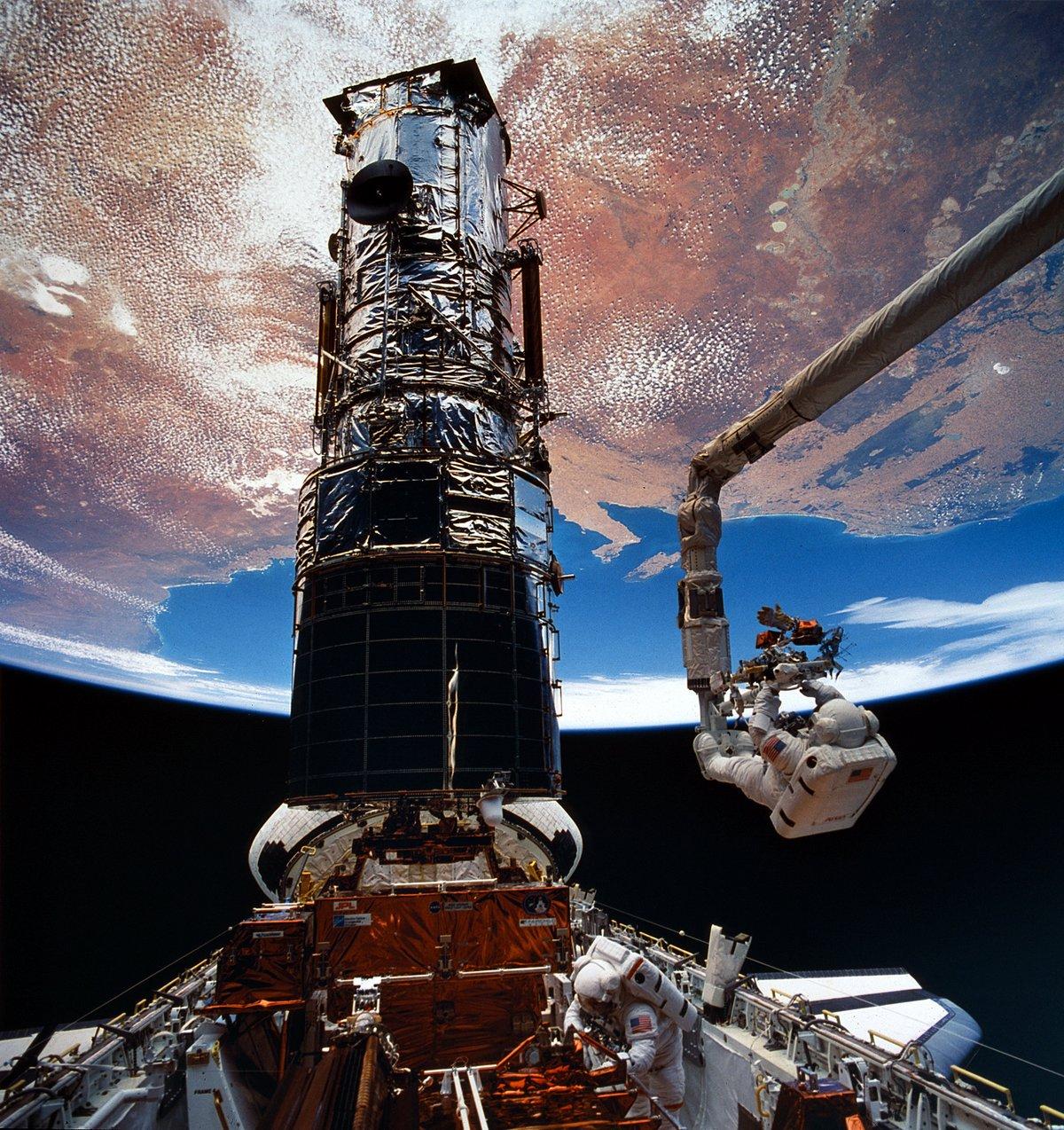 Hubble réparation