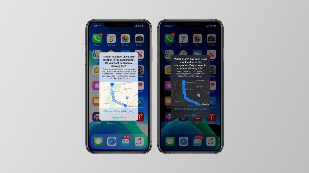 iOS 13 localisation permissions