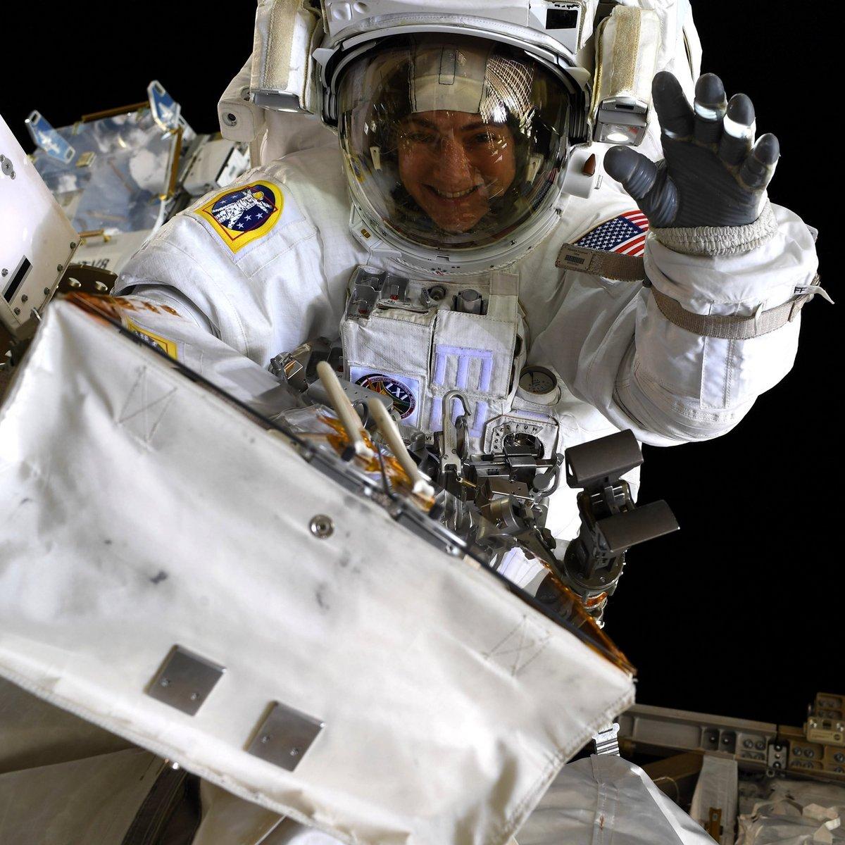 Astronaute Meir ISS