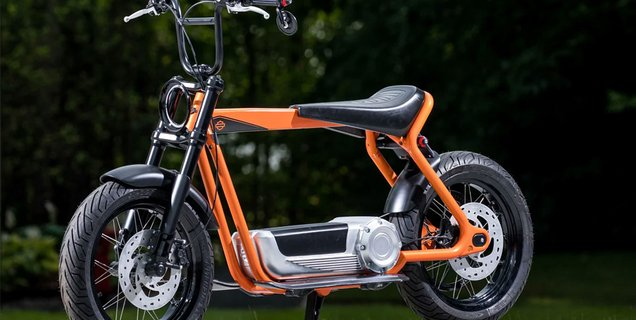 Le futur scooter électrique Harley-Davidson se montre en photos et en dessins