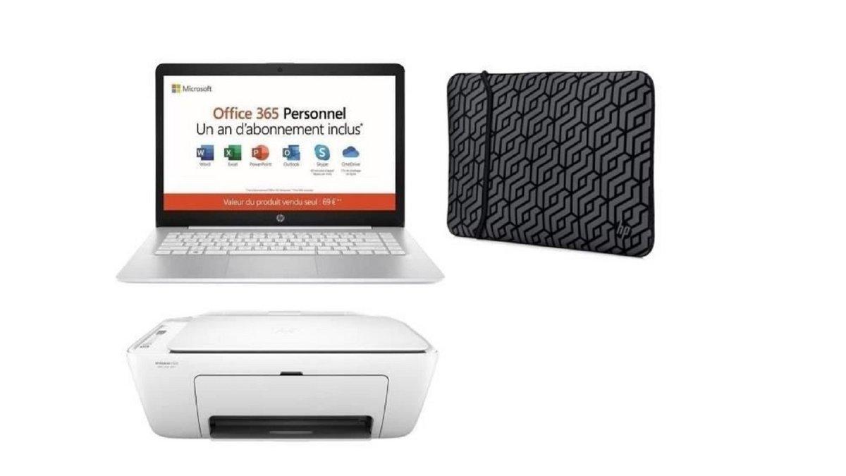 Pack PC portable HP bureautique