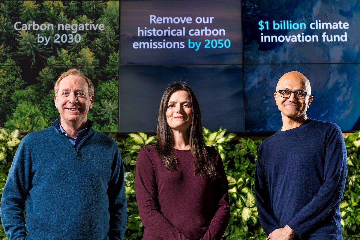 Microsoft émissions carbone 2030