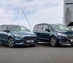 Des déclinaisons hybrides des Ford S-MAX et Ford Galaxy dès début 2021