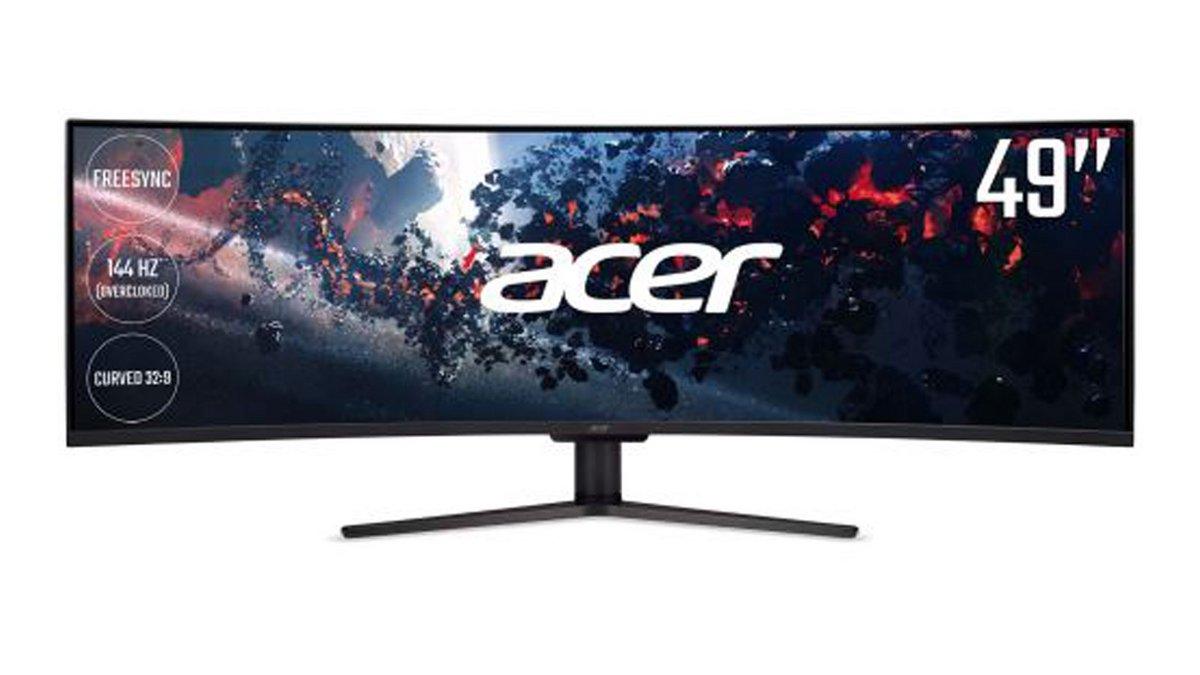 Ecran Gamer Acer Incurvé