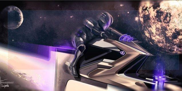 Lexus dessine des véhicules destinés à la Lune, et ils sont complètement lunaires