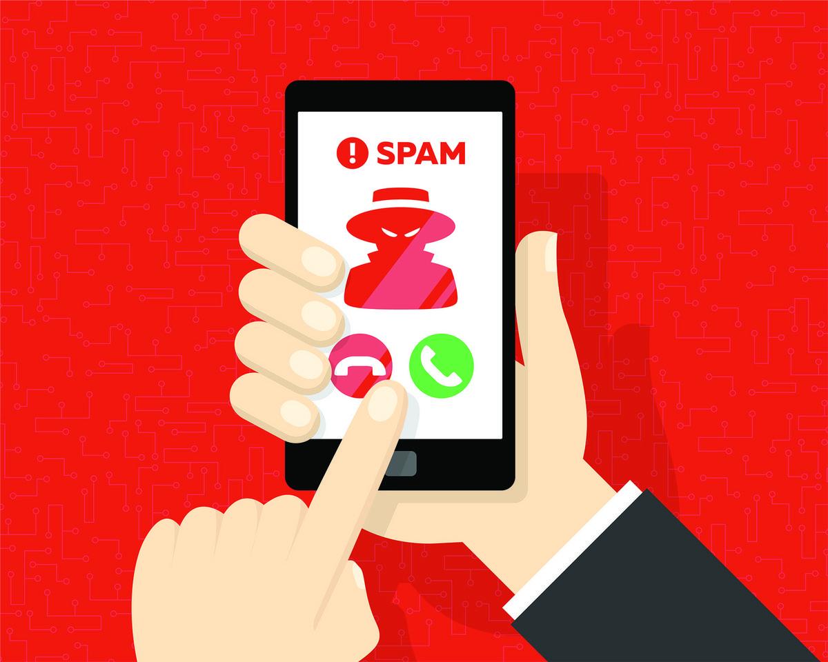 spam téléphonique