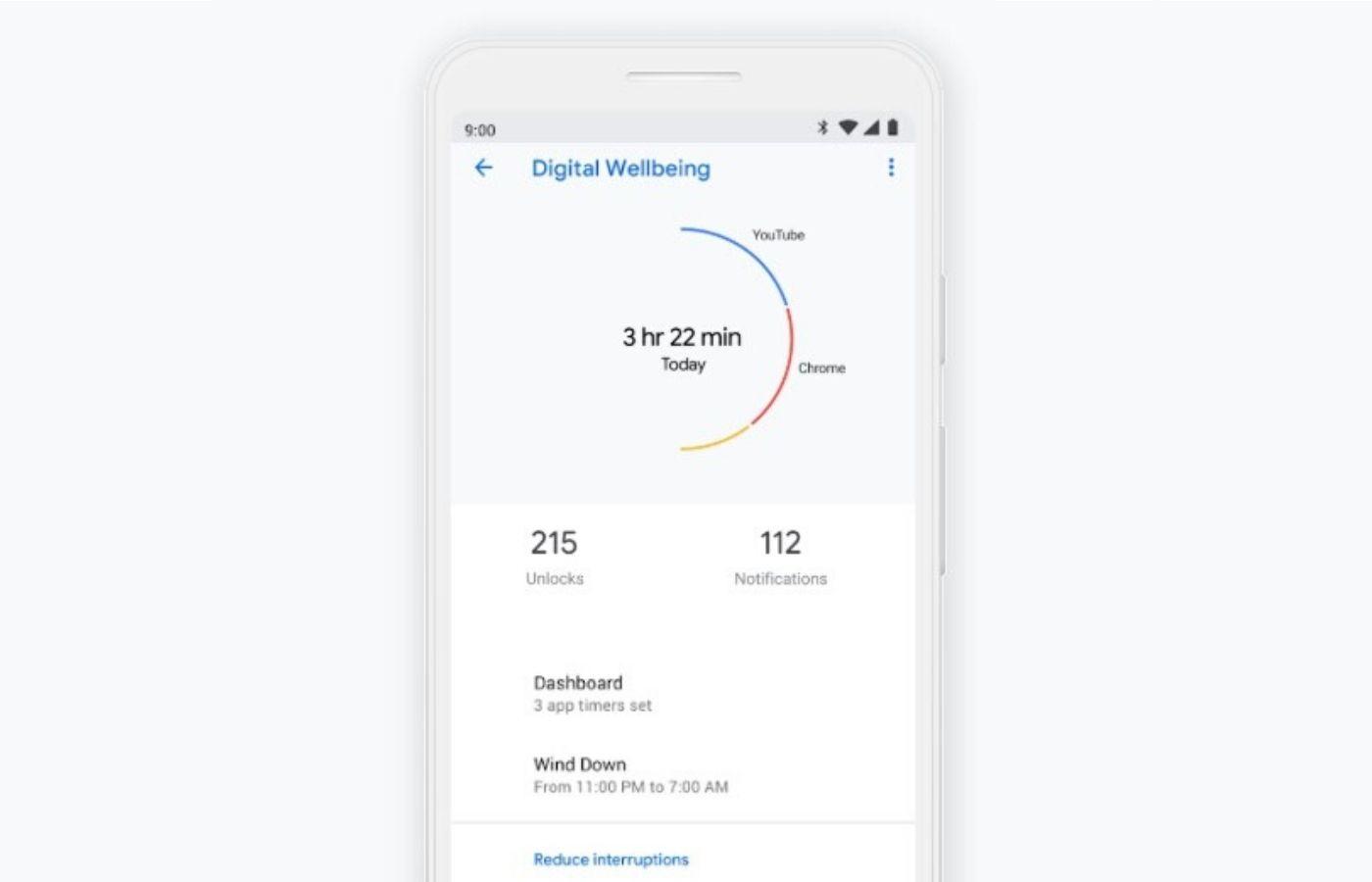 """L'application Bien-être numérique de Google va vous aider à prendre des pauses """"pour vous aérer"""""""