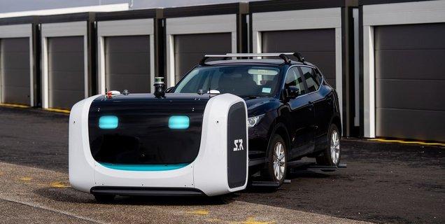 Lyon : bientôt 2000 places sur le parking robotisé de l'aéroport St Exupéry