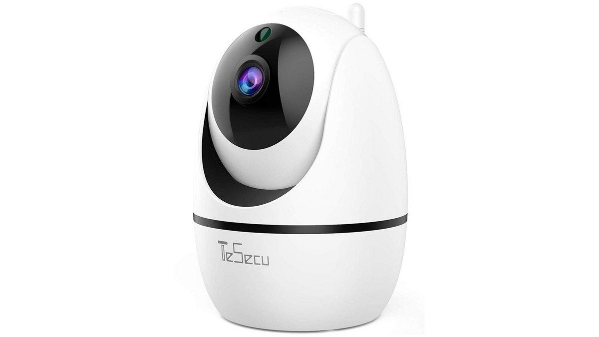 Caméra de surveillance connecté et vision nocturne Dome à -60% grâce aux soldes amazon
