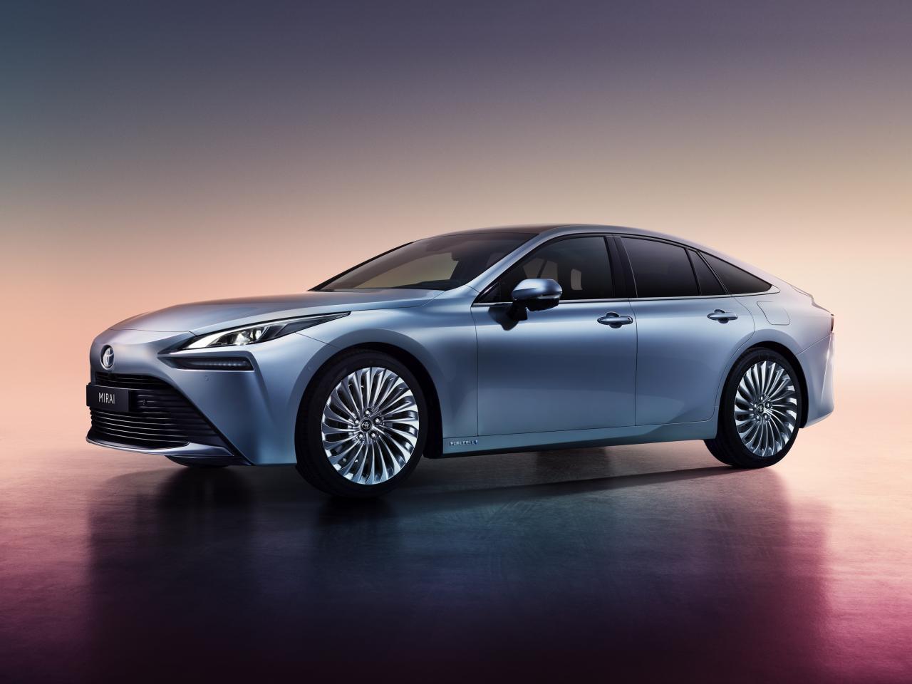 La Toyota Mirai propulsée à l'hydrogène, prévue en 2020, promet 650 km d'autonomie