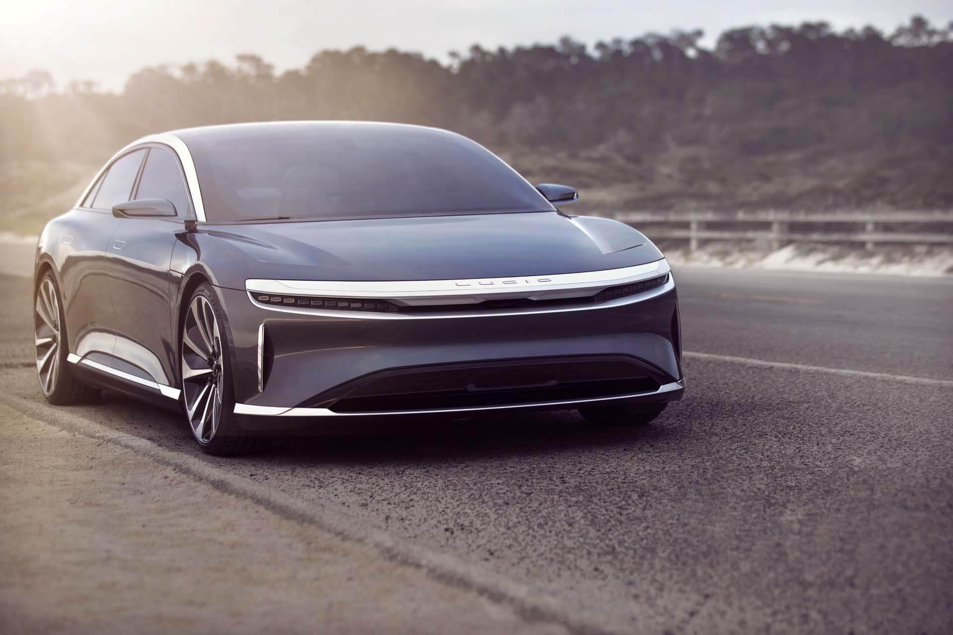 Lucid Air : la berline électrique concurrente de la Model S ouvre ses précommandes en France