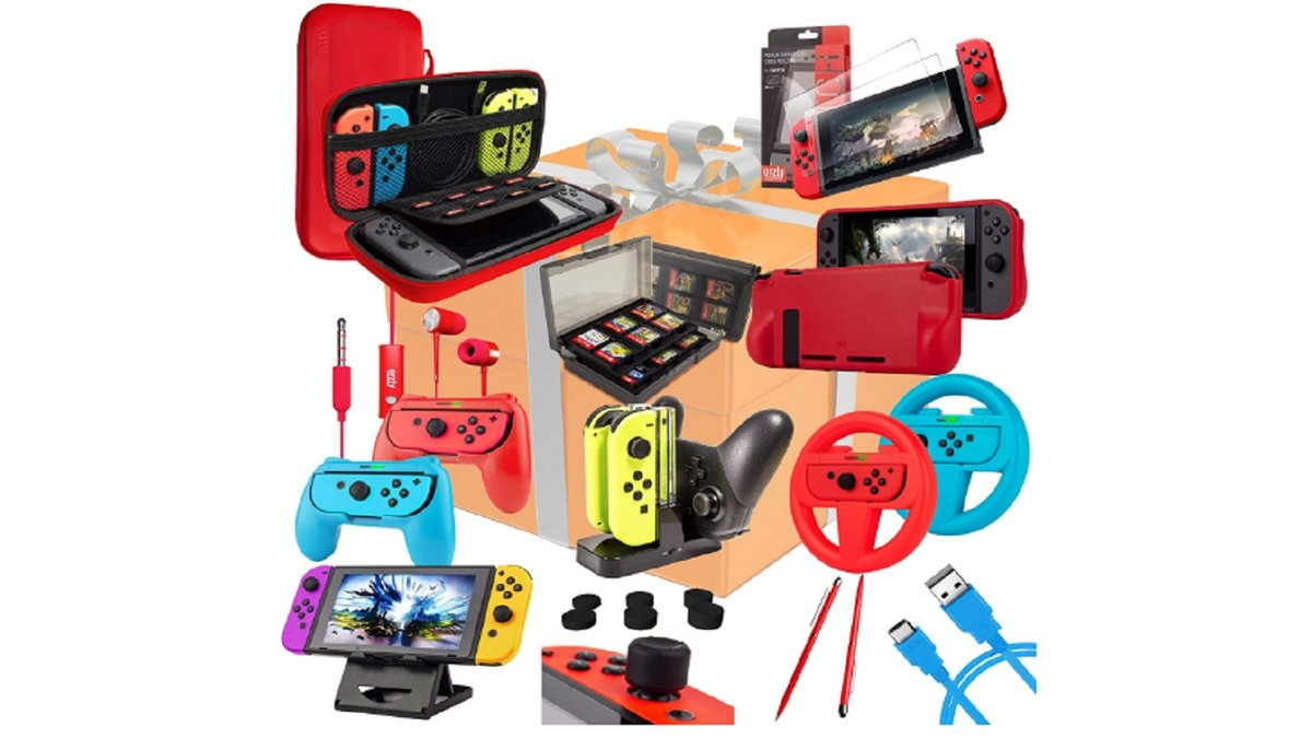 Pack accessoires Nintendo Switch