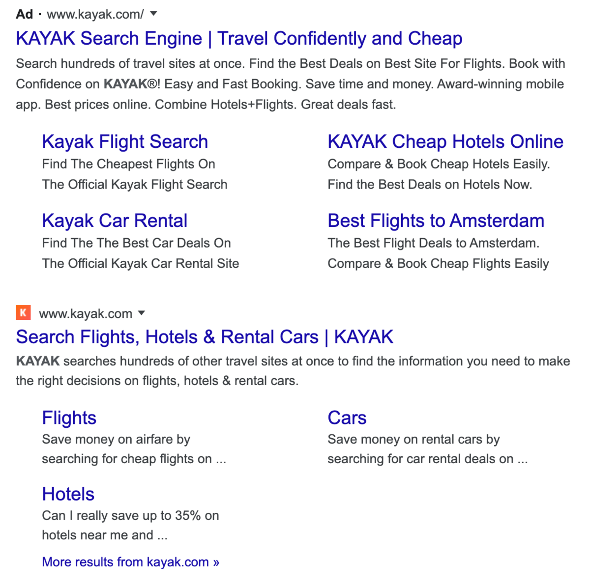 Publicités Google