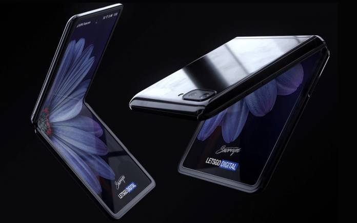 Samsung Galaxy Z Flip rendu