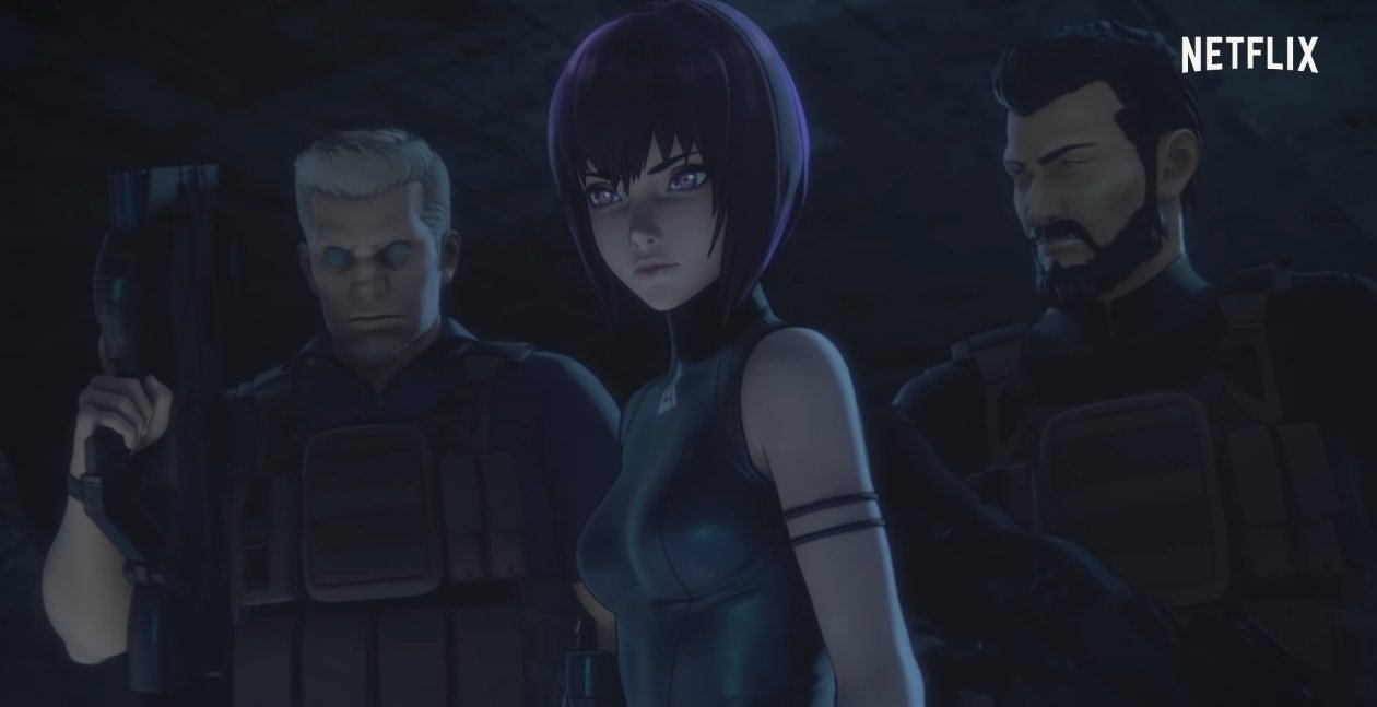 Ghost in the Shell SAC_2045 : le trailer de la série Netflix éveille la curiosité