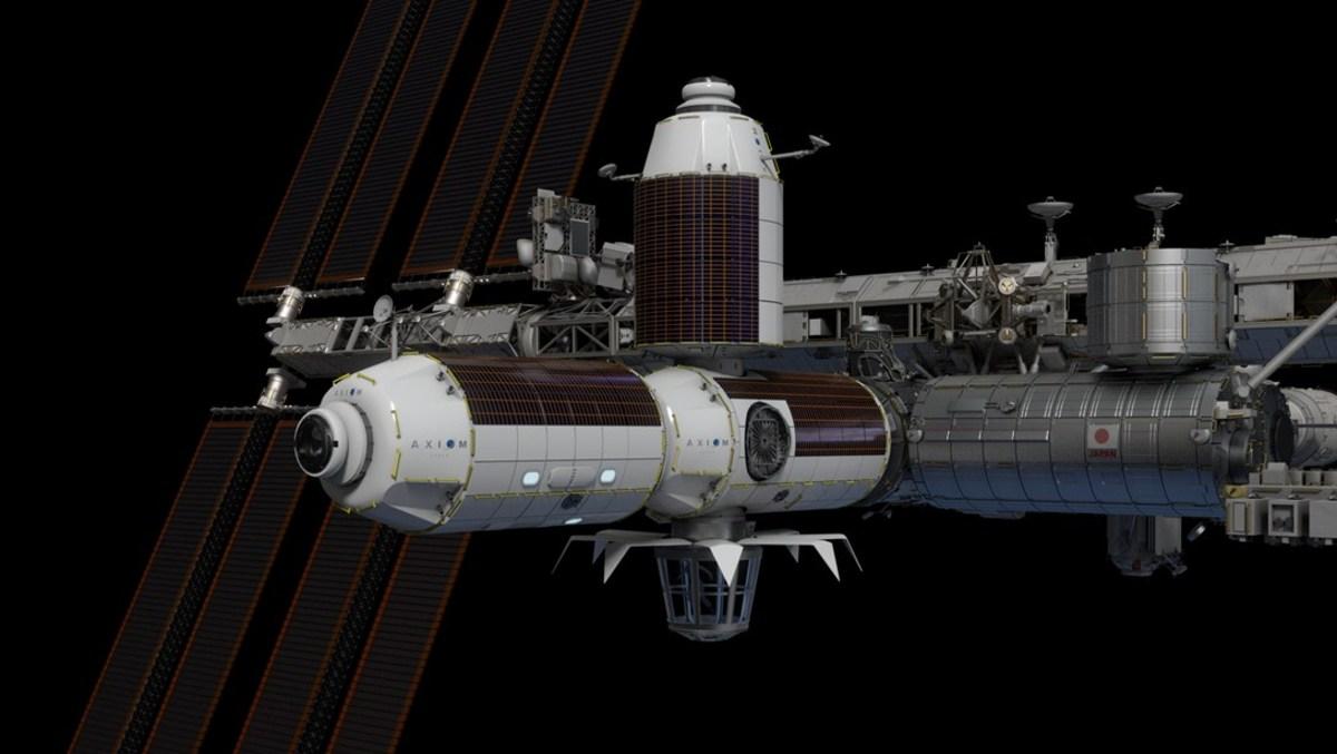 """La NASA sélectionne Axiom Space pour de nouveaux modules """"commerciaux"""" sur l'ISS"""
