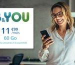 Profitez de l'offre B&You 60Go à 11,99€/mois pour les Soldes
