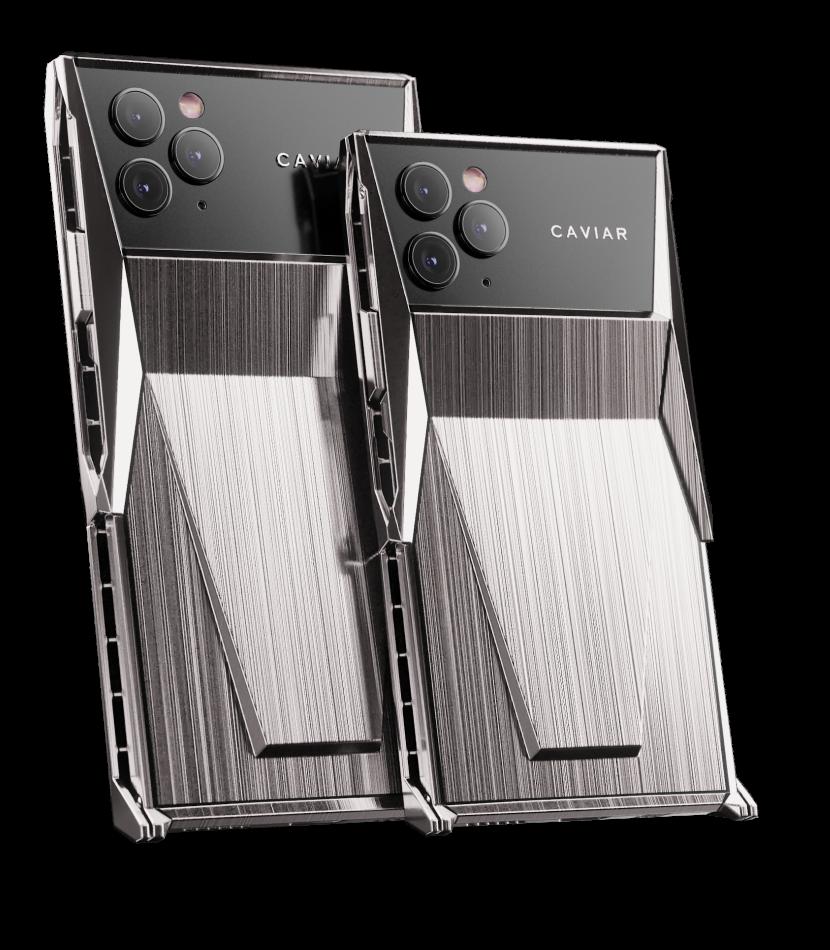 Caviar dévoile son iPhone 11 Pro, inspiré du Cybertruck Tesla...