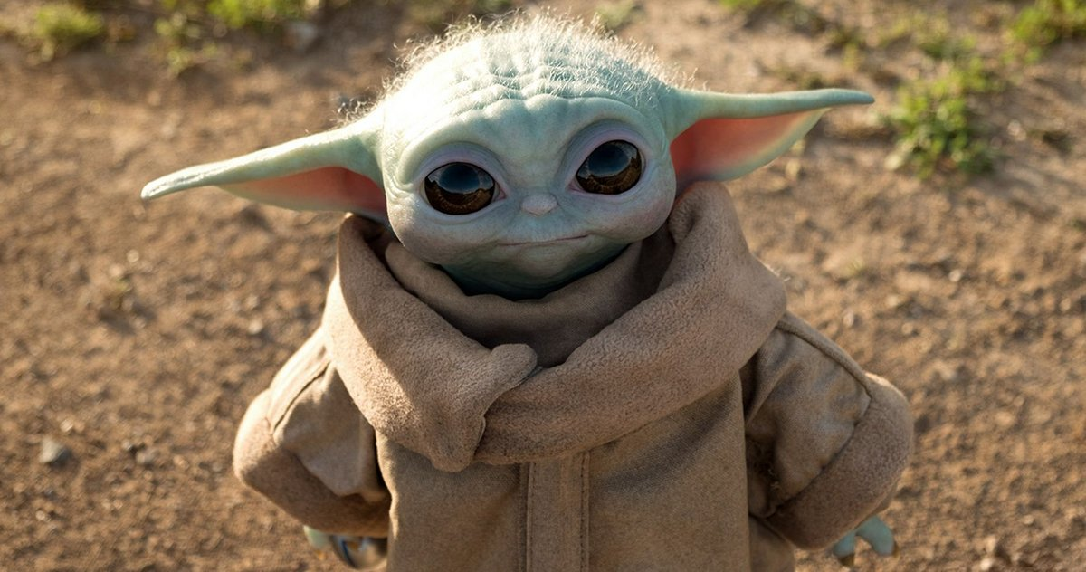 Baby Yoda Figurine
