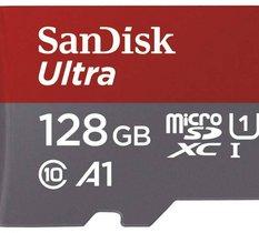 Le prix de la carte Sandisk MicroSDHC 128 Go en forte baisse