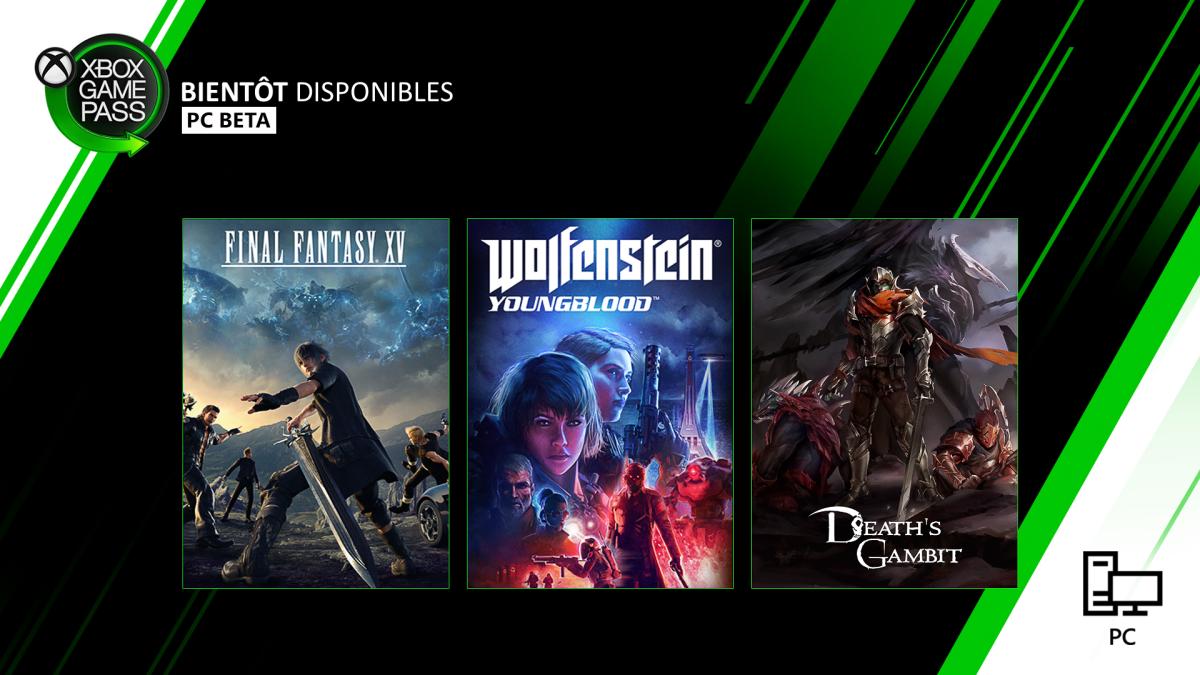Xbox Game Pass PC février 2020