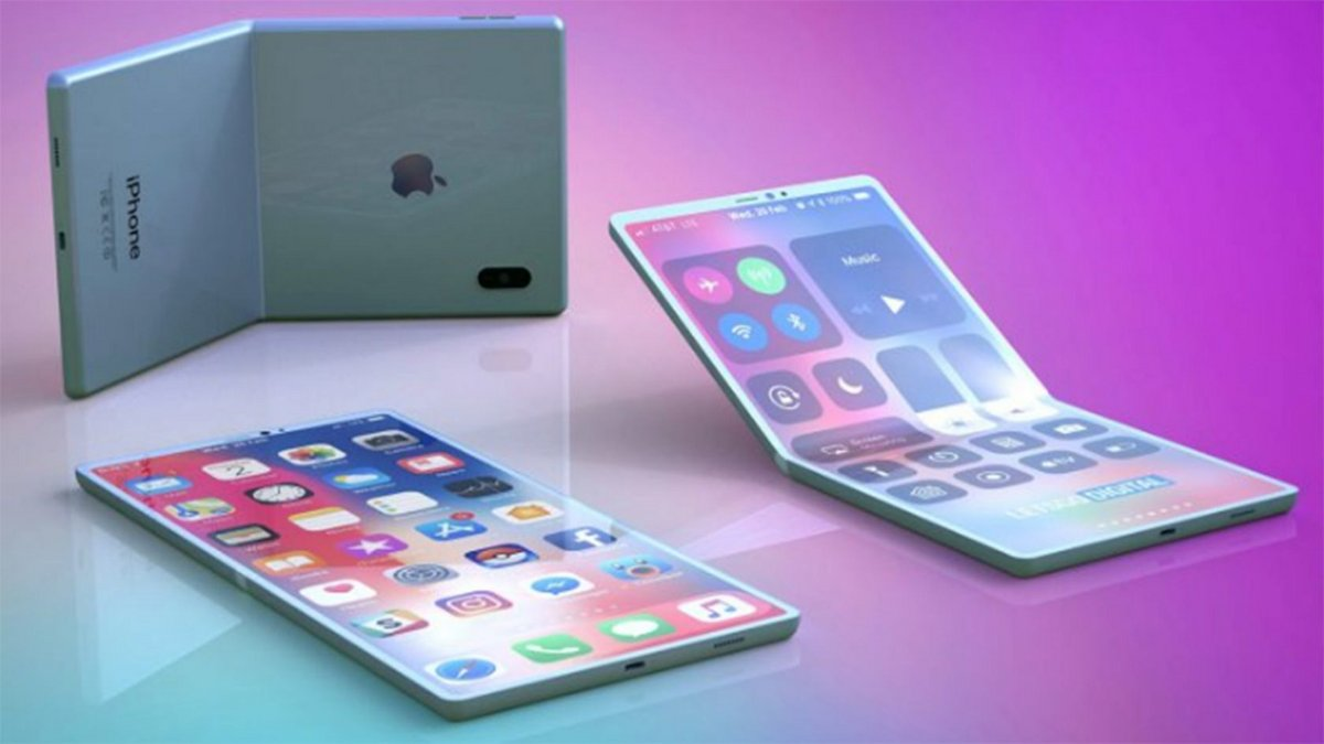 Design possible iPhone pliable © Foldable News