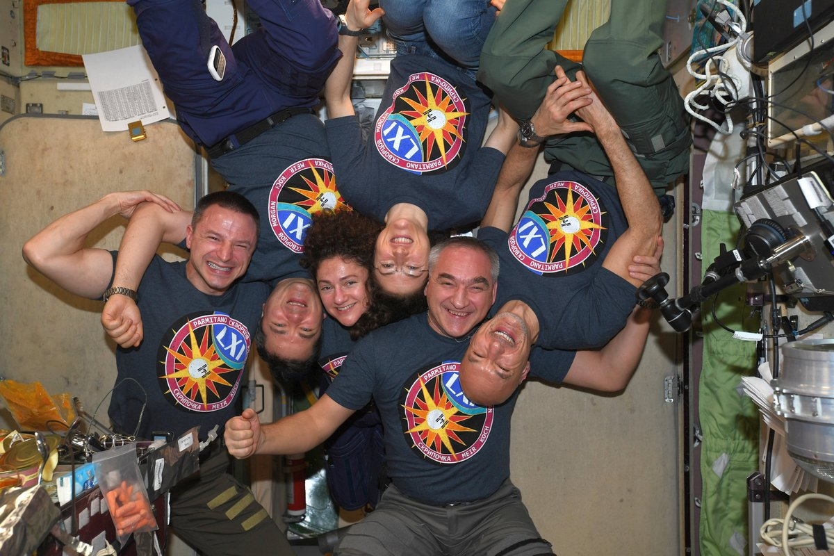 ISS Expedition 61