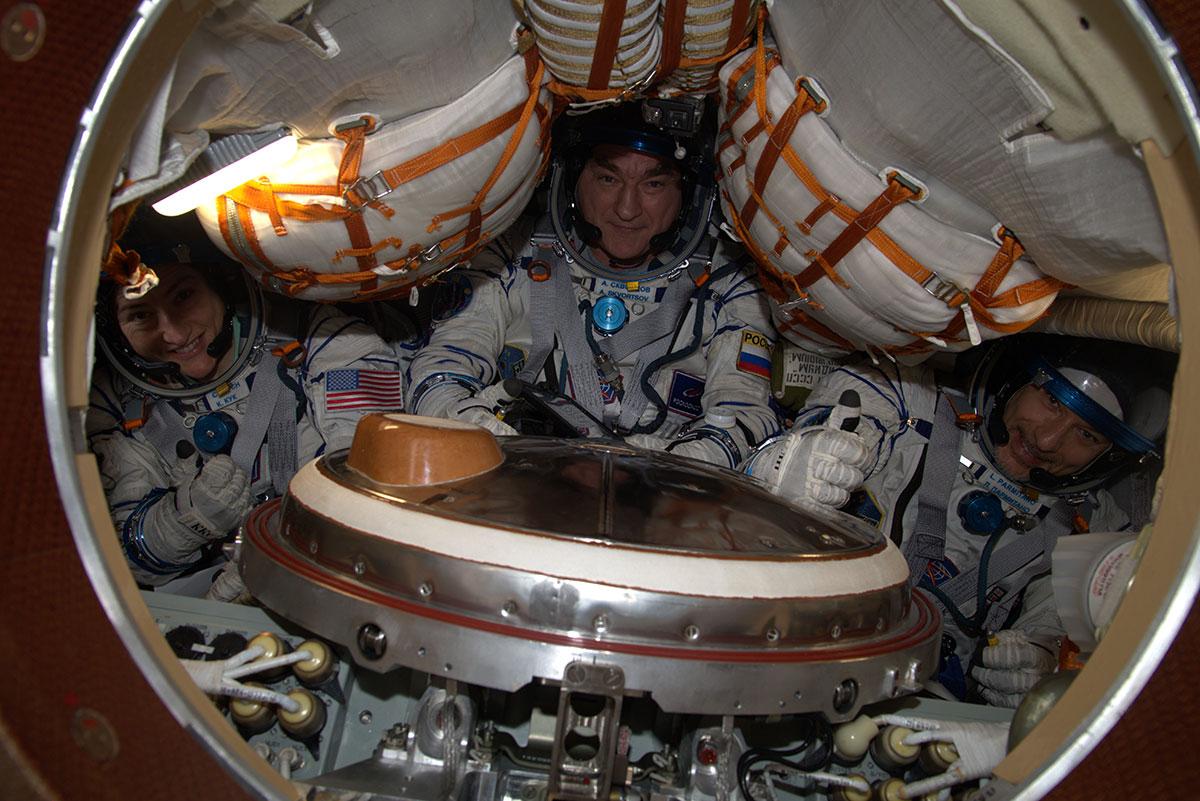 ISS Soyouz Koch/Parmitano/Skvortsov