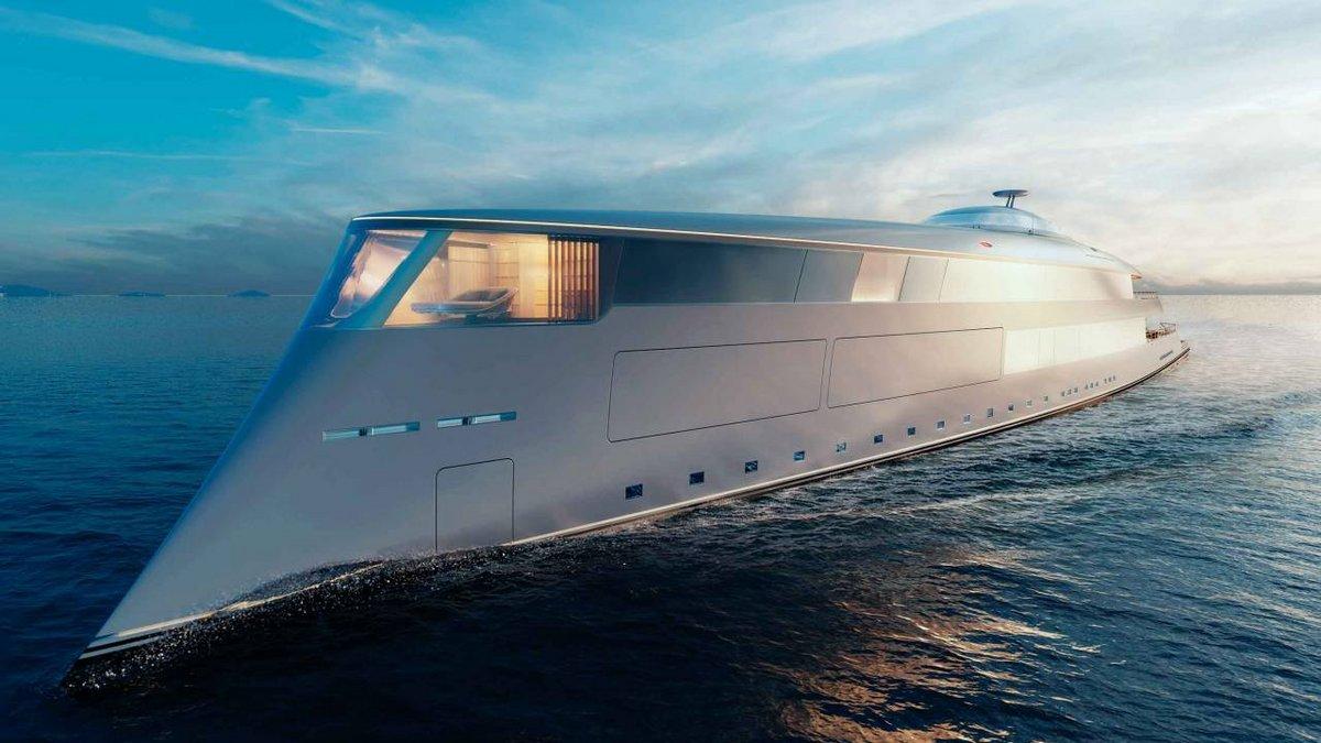 Aqua superyacht hydrogene