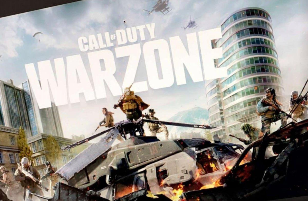 Call of Duty Modern Warfare Battle Royale Warzone