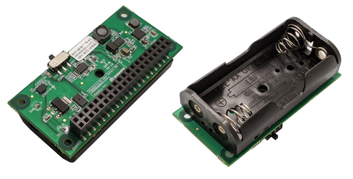 Gumstix Raspberry Pi Zero Battery Board
