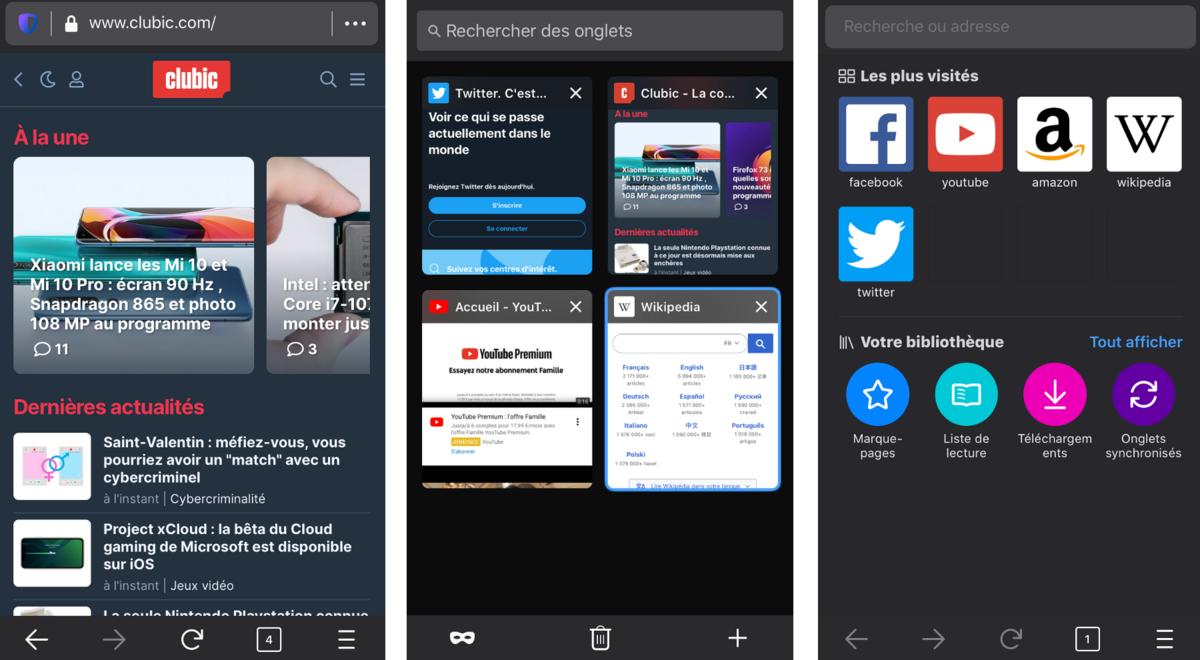 Firefox pour iOS