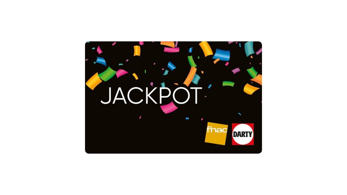 Carte Jackpot Fnac Darty