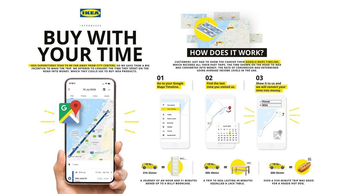 IKEA Dubaï Buy with your time