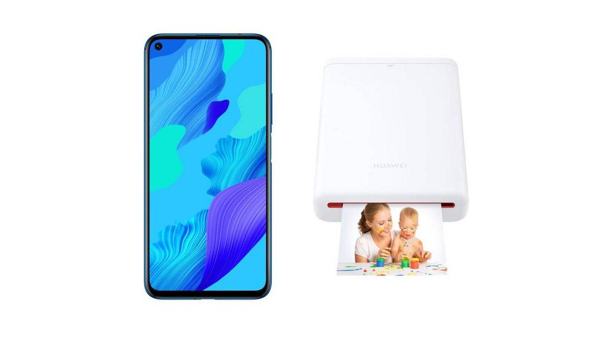 Huawei Nova 5T Double SIM 128 Go Bleu imprimante portable CV80.jpg