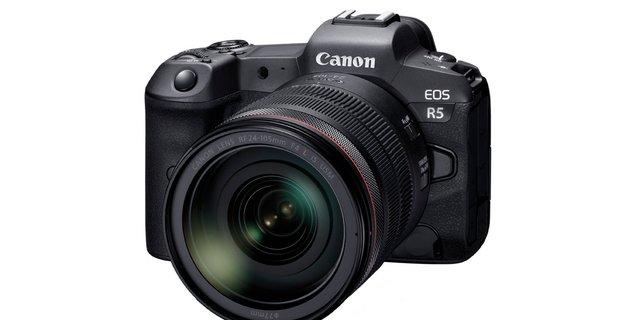 Canon annonce l'EOS R5, son nouvel