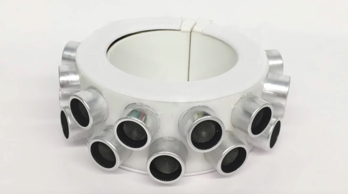 Bracelet brouilleur microphones