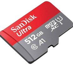 Chute de prix sur la carte microSDXC SanDisk Ultra 512 Go