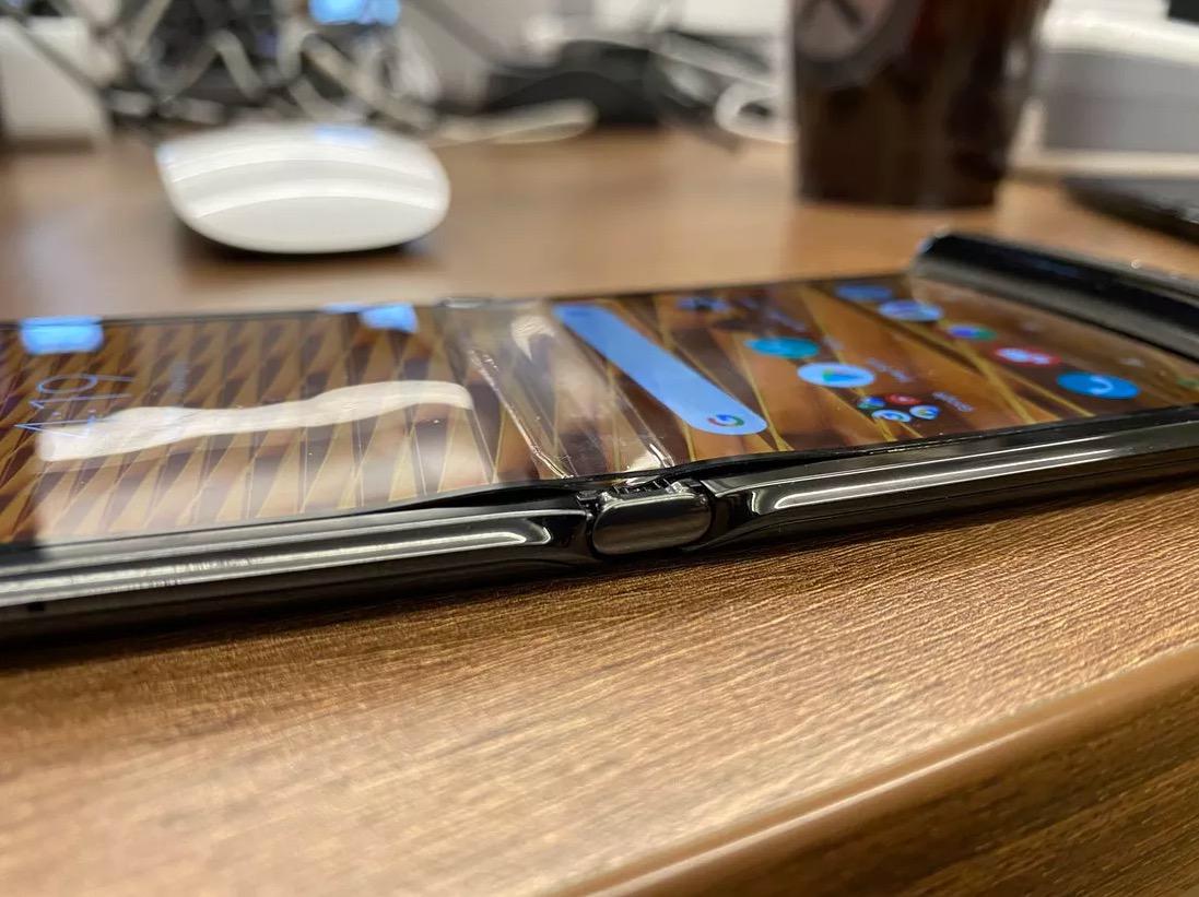 Motorola Razr problème écran