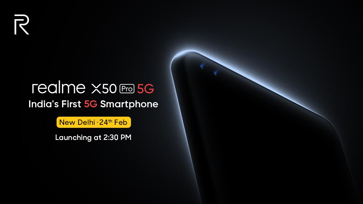 Realme X50 lancement