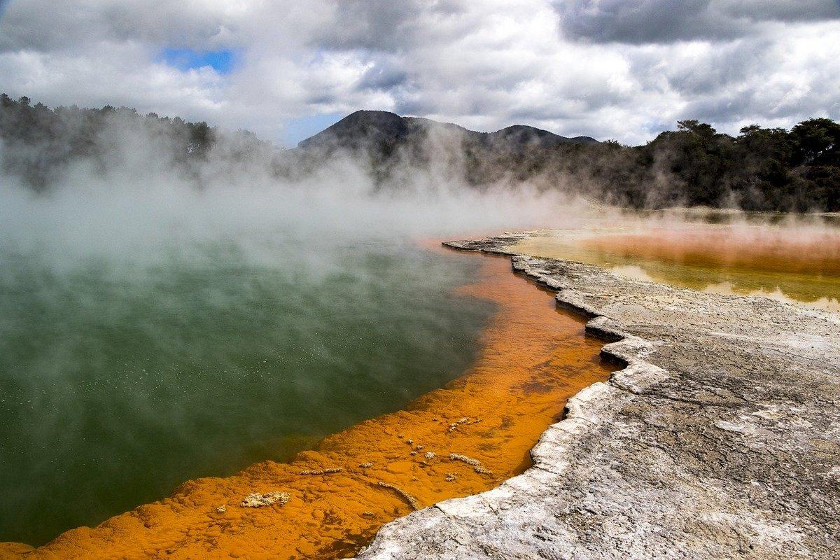 Sources chaudes géothermie
